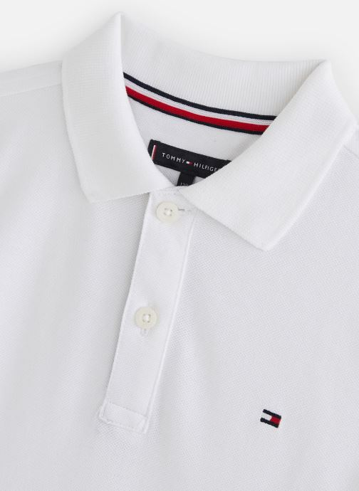 Kleding Tommy Hilfiger Polo Sleeve Text Polo S/S Wit model